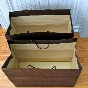Louis Vuitton Bags - Louis vuitton Shopping Bags. Two